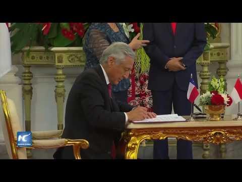 Visita Michelle Bachelet Indonesia, previo al foro Franja y Ruta, en China
