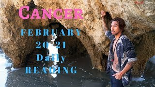 """CANCER SOULMATE """"LOVE IS A SINGLE SOUL DIVIDED IN TWO BODIES"""" FEB 20-21 TAROT READING"""