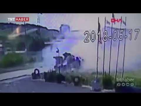 Gaziantep'te iki tır çarpıştı: 2 ölü