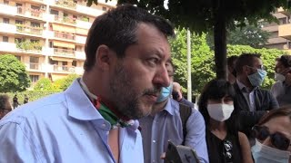 Salvini: «Io sindaco di Milano? Ci penserò a fine carriera»