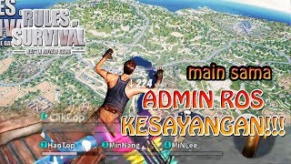 CARI CHICKEN PALING TRYHARD BARENG ADMIN ROS !!! - Rules of Survival Indonesia