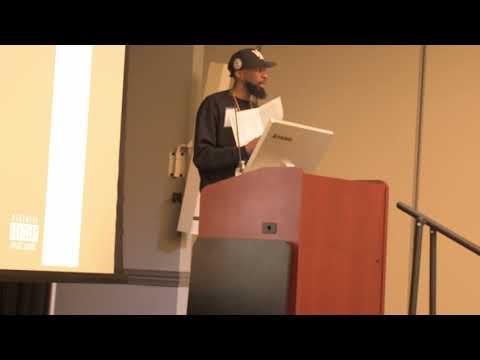 Radio B -Jesus Never Wore A Suit: Virginia Union University Lecture