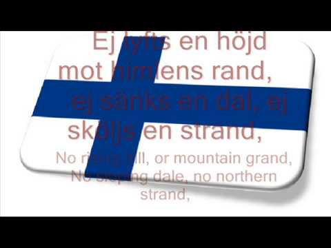 Finland National Anthem, Maamme