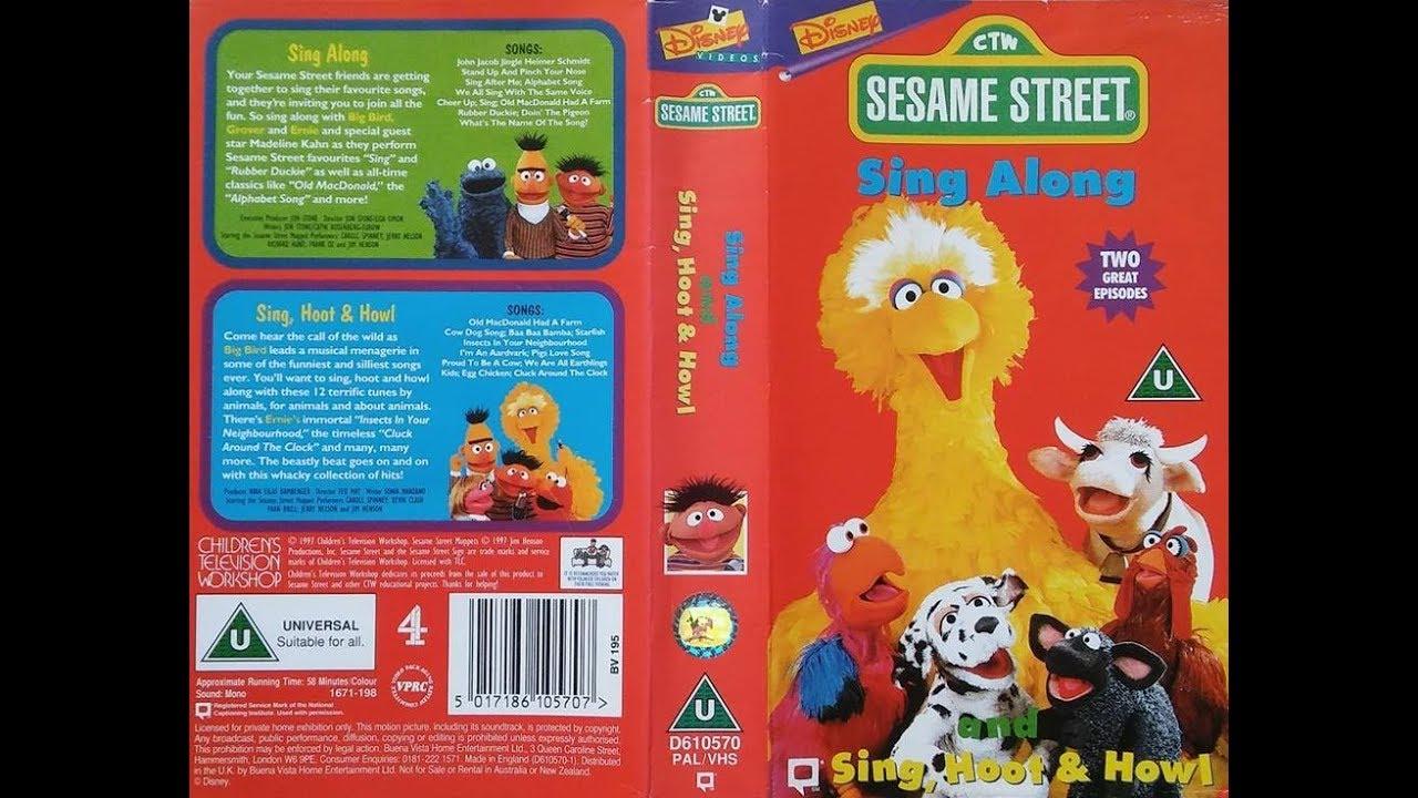 Sesame Street Sing Hoot And Howl Vhs Sesame Street - Sing A...