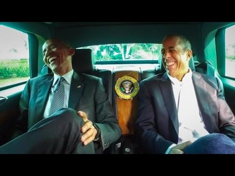 President Obama Goes for a Ride With Jerry Seinfeld on 'Comedians in Cars Getting Coffee'