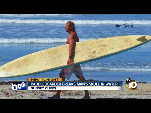 Stand-up paddleboarder charged with assault with a deadly weapon
