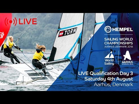LIVE Sailing  Hempel Sailing World Championships  Qualification Day 3