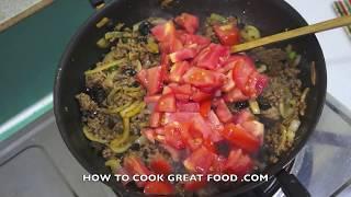 Chilli Beef Baked Pasta Recipe