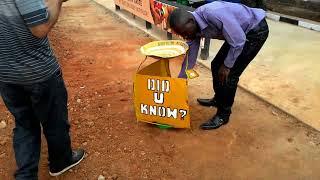 Uganda Gezisi Ekvator Çizgisi Üzerindeyiz