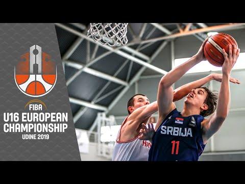 LIVE - Croatia V Serbia - FIBA U16 European Championship 2019