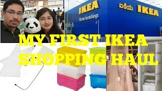 #IKEA HYDERABAD FIRST SHOPPING HAUL/BASKET ORGANISER KITCHEN TOOLS AND MORE