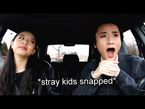 reacting to stray kids for the first time...