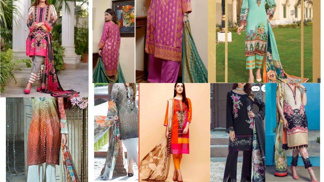 Summer Eid Collection 2020   Latest Lawn Design 2020   New Summer Casual Salwar Kameez Design 2020