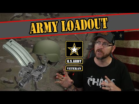 What Is The US Army Loadout