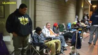 Air Jordan Concord 11 Release day Camp Out Line