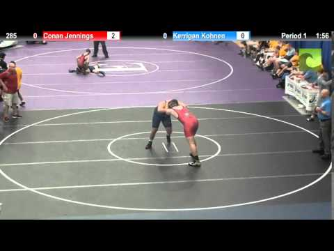 285 Conan Jennings vs. Kerrigan Kohnen