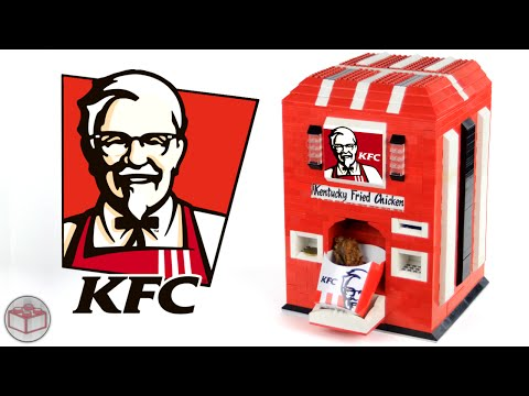 LEGO KFC Kentucky Fried Chicken Machine