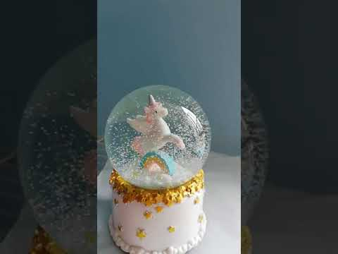 Twinkle Unicorn Crystal Music Box Unicorn