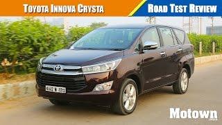 Toyota Innova Crysta review (Petrol & Diesel)