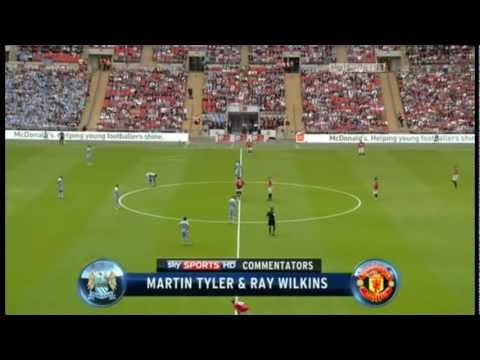 Manchester City - Manchester United 2-3 (Community Shield 2011)