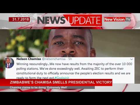 Zimbabwe's Chamisa smells victory