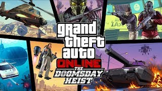 |Dia del Juicio Final| - GTA 5 ONLINE Doomsday Heist DLC