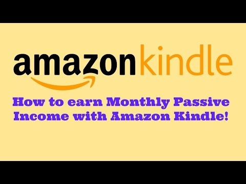 Amazon KDP Royalty Payments - Passive Income