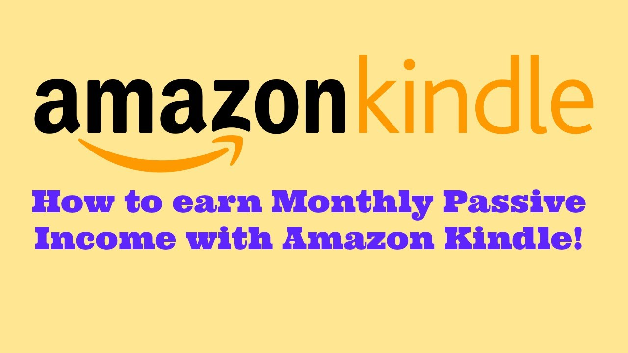 Amazon KDP Royalty Payments - Passive Income - YouTube