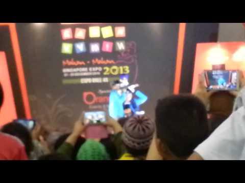 Tegar in Singapore Expo 24.12.2013