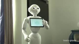 Pepper the Humanoid Robot: Hands-on