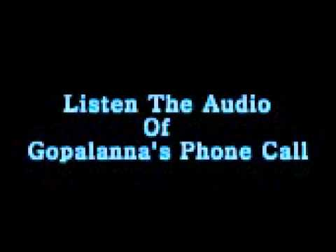 Gopalanna Prank call