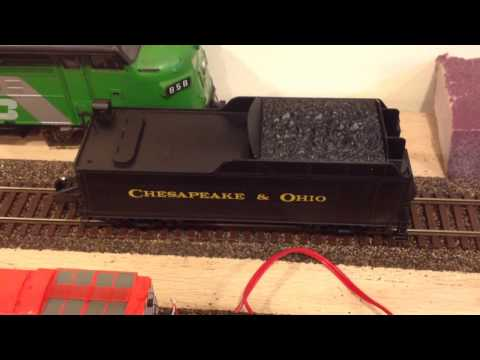 TCS WowSound 101 installed in American Flyer S gauge Mikado
