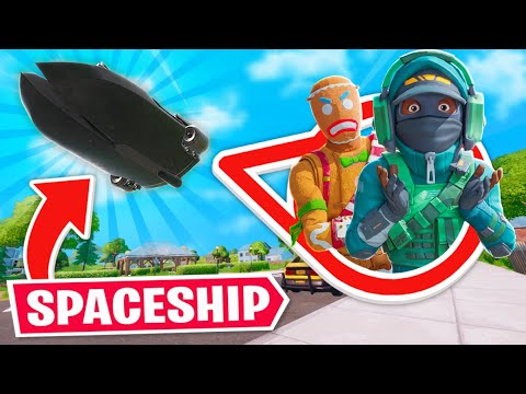 So Epic Added SPACESHIPS to Fortnite..