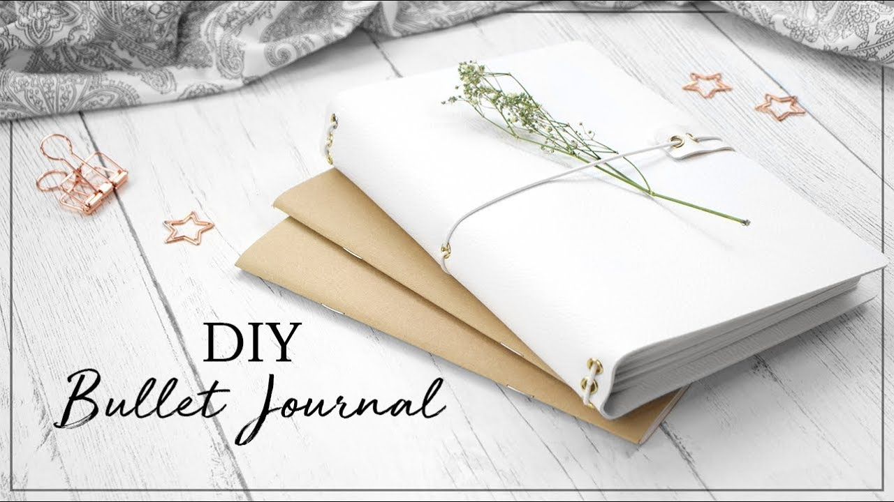 DIY Bullet Journal | Traveler's Notebook Style