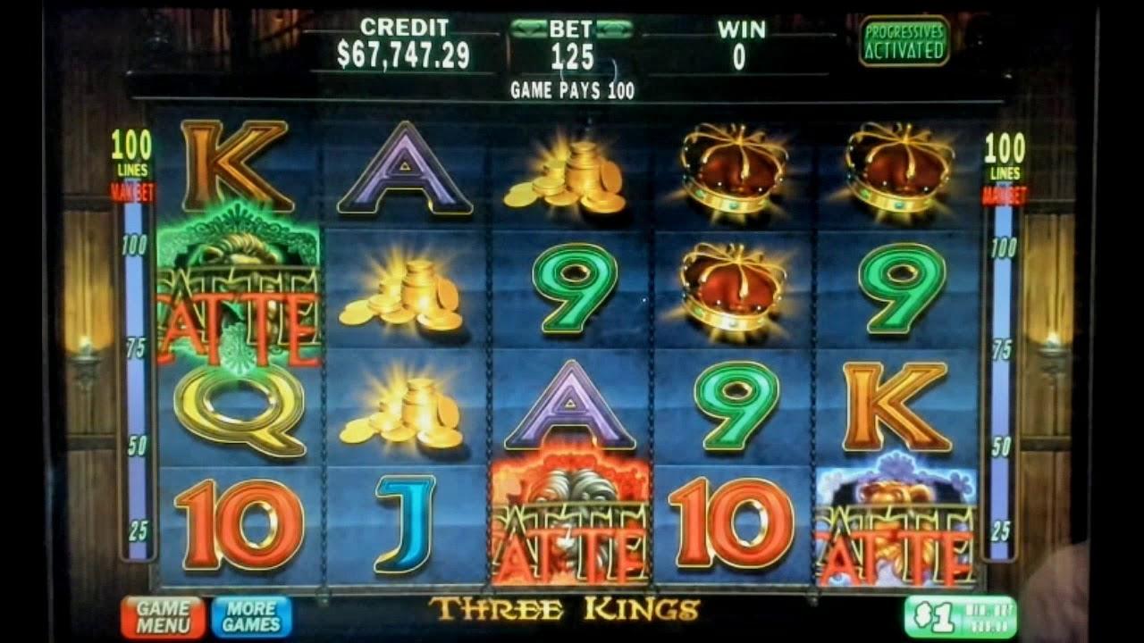Three Kings Video Slots