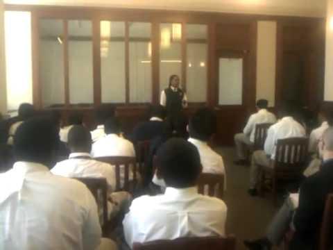 Brooklyn Latin School Latin Declamation, March 2011 - In Catilinam I, Cicero (Joshua Frank)