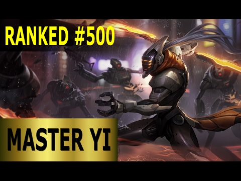 Master Yi Jungle - Full League of Legends Gameplay [German] Lets Play LoL - Ranked #500