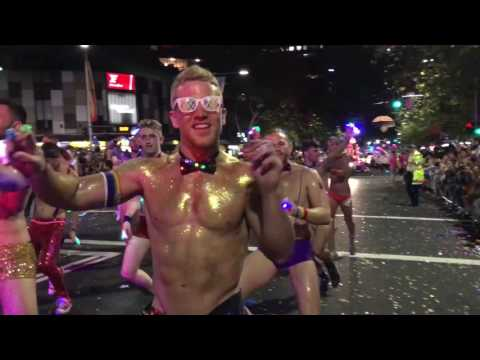GlamCocks at Sydney Mardi Gras Parade 2017