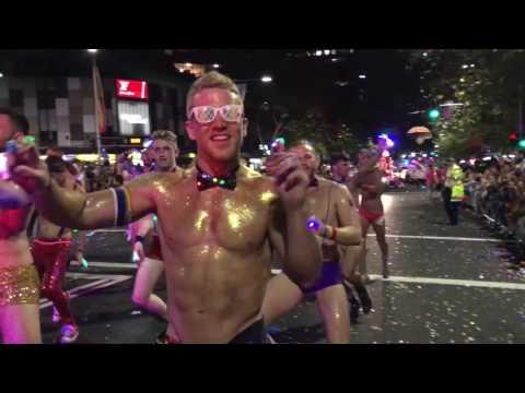 GlamCocks at Sydney Mardi Gras Parade 2017