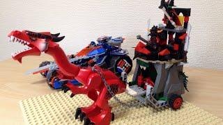 レゴネックスナイツ ジェストロの「偽」マグマ戦車 - [LEGO NEXO KNIGHTS] Fake! Jestro's Evil Mobile -