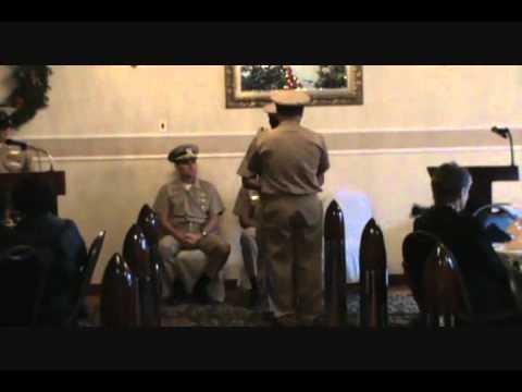 Ensign Fitz Santos Commissioning Part2
