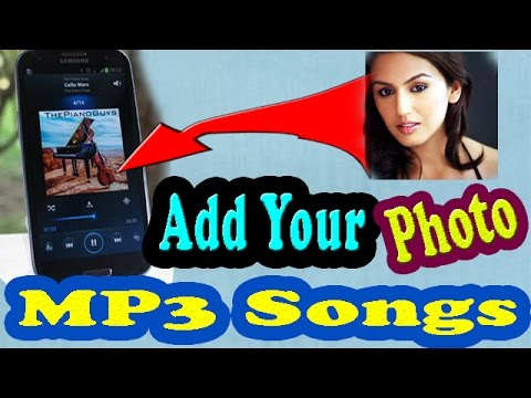how to add image in mp3 song on mobile