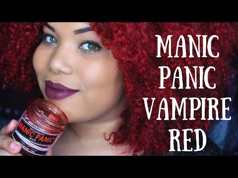 Manic Panic Vampire Red Hair Dye | Answering Questions on my Color!
