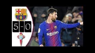 FC BARCELONE vs CELTA VIGO : Coupe du Roi 2018 buts et Résumé du match