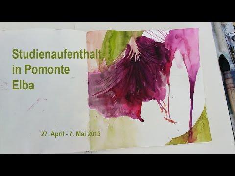Visual Art School Basel in Pomonte, Elba 2015
