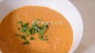 How to make a Romesco sauce, and other seed or nut thickened sauces