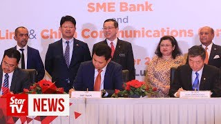 SME Bank allocates RM1b financing for local ECRL contractors