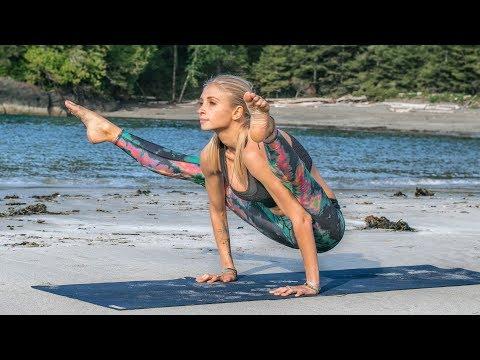 Advanced Yoga Workout ♥ Challenge Your Strength & Balance | Tofino