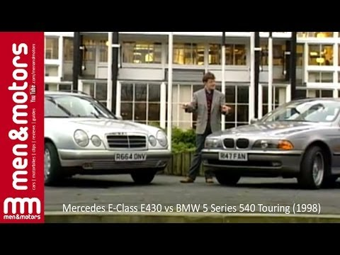 Mercedes E-Class E430 vs BMW 5 Series 540 Touring (1998)