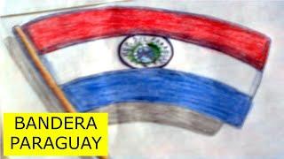 Como dibujar la bandera de paraguay ✅
